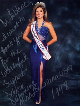 Debbie Delhomme, Miss Louisiana 1998